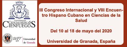 III Congreso Internacional y VIII Encuentro Hispano Cubano en Ciencias de la Salud
